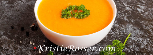 Warming Pumpkin Soup and Carrot Soup